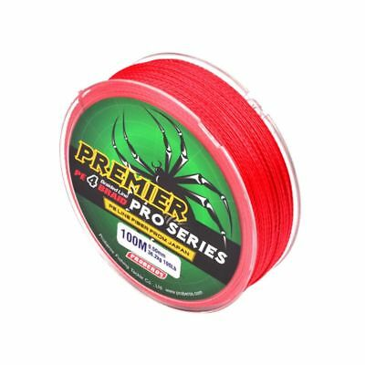 Utility Super Strong PE Braided Sea Fishing Line Multifilaments Angling 100/300M