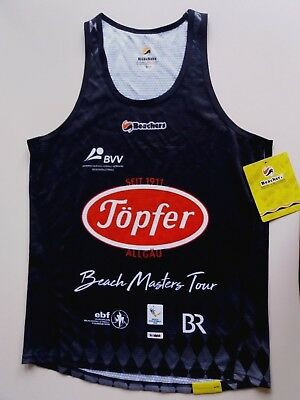 BVV Beach Masters Frauen Beachvolleyball Player Shirt/Top (L) 2018