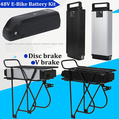 48V 13AH 14AH 18AH 1000W Electric Ebike Li-ion Battery with Charger OR Holder BP