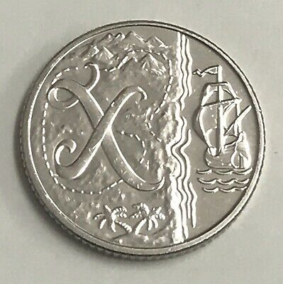 New 10p Coin Letter X 2018 X Marks The Spot Ten Pence Free P&P