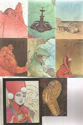 Moebius – Box Collector Cards/Trading Cards Set