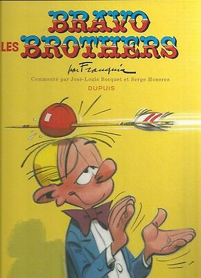 Franquin Spirou And Fantasio And Gaston Lagaffe Bravo The Brothers
