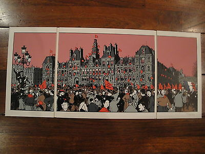 Tardi Vautrin The cry of the people trio 275 ex signed