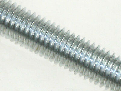 M6 x 1 metre Studding A4-316 Stainless Steel - bundle of 10 lengths