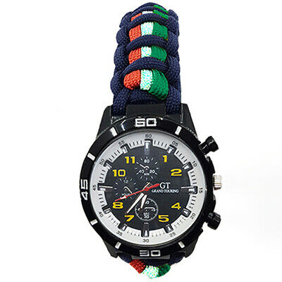 The Merchant Navy (TMN) Paracord Watch With Colours in Strap