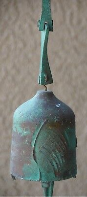Beautiful Vintage Arcosanti Wind Chime Paolo Soleri Bronze Bell Chime