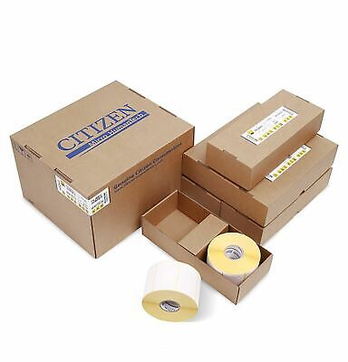 Citizen P4-26003 Barcode Label Media Pack - 74x50cm Thermal Labels (2,850 Labels