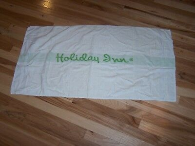 """Vintage HOLIDAY INN Towel - Made in USA - 22"""" x 42"""""""