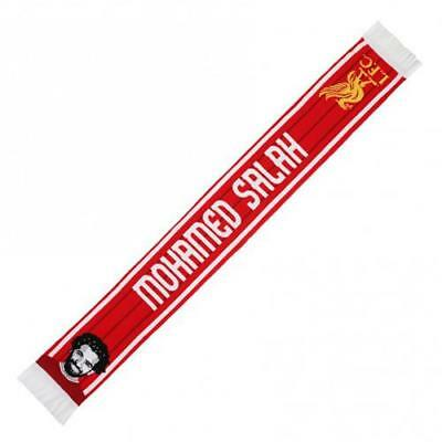 Liverpool F.C. Scarf Salah  GIFT  SUPPORTER OFFICIAL MERCHANDISE