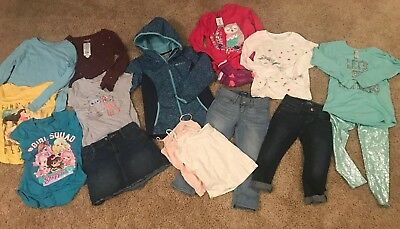 Lot Of Girls Clothes Size 7-8 Great For Fall Winter_Crazy8_Cat Jack_ Old Navy