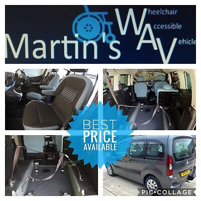 2013 CITROEN BERLINGO 1.6 hdi 90 PLUS WHEELCHAIR ACCESSIBLE DISABLED VEHICLE