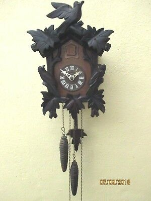 "Cute "" Black Forest ""  Cuckoo Clock ,"