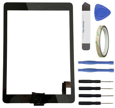Touchscreen Glas Display f. Apple iPad Air 2 iPad 6 Digitizer Scheibe Front blk.