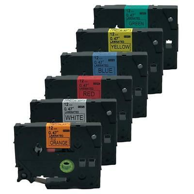 6PK Brand New Compatible Brother P-Touch Tape Label  TZe-B31 231 431 531 631 731