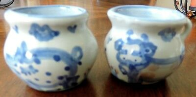 M A Hadley Pottery Miniature Or Individual Sugar And Creamer Set