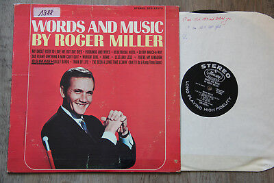 LP - ROGER MILLER - Words And Music
