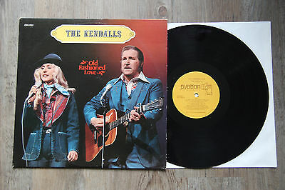 LP - THE KENDALLS - OLD FASHIONED LOVE - Ovation OV 1733