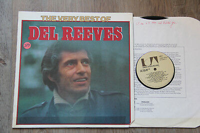 LP - DEL REEVES - The Very Best of Del Reeves