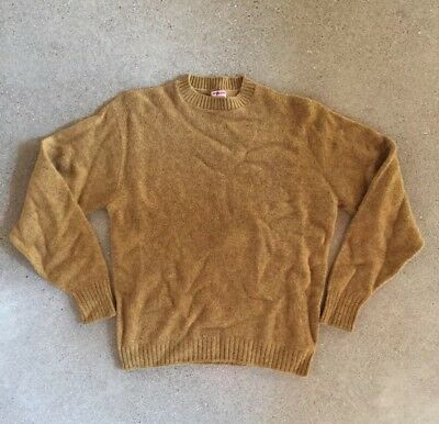 Vintage McGregor Sportswear Knit Sweater Mens Large 85% Wool 15% Mohair Made USA