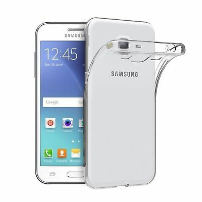 Slim Clear Soft Silicone Transparent Case Cover For Samsung Galaxy J2 / J2 Prime