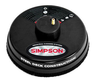 """Simpson 3600 PSI Quick Connect 15"""" Surface Cleaner w/Rotating Jets"""