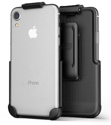 Apple iPhone XR Belt Clip Secure Fit Holster (ClipMate) Case Free - Encased