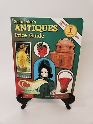 Schroeder's Antiques Price Guide Book-602 pages-2001-Nineteenth Edition Appraise