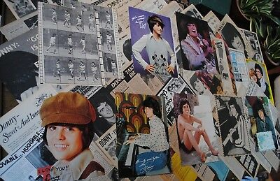 Lot Vintage Clippings ~ DONNY OSMOND ~ The Osmond Brothers ~ Early Pin-Ups / Pic