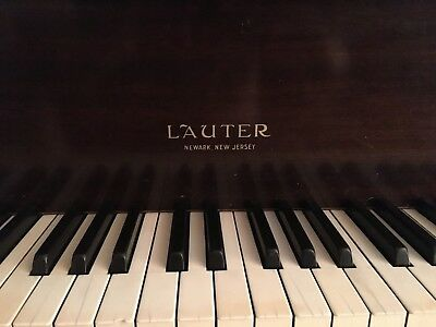 1918 Lauter Baby Grand Piano - GREATLY REDUCED