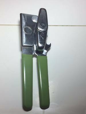 Vintage Green Handled Swing A Way Can Opener