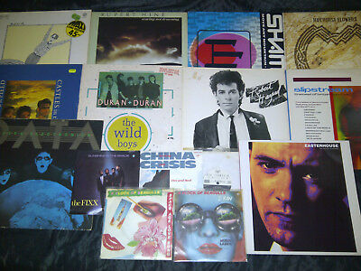 15 x New Wave Indie Synth Vinyl Sammlung - Soft Cell AFOS Duran Data Easterhouse