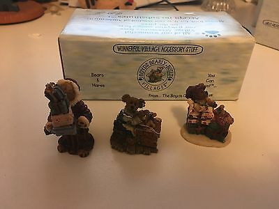 Boyds Collection Accesory Ted E Bear Shop Set #2 19501-2