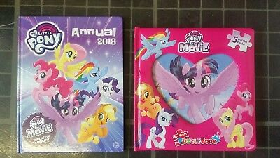 Mlp Puzzle Book And Annual New