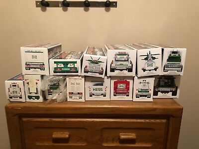 Hess Truck collection 2000-2013,