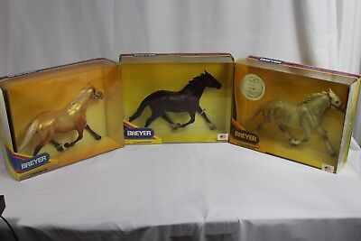 Breyer Lot of Pacers LTD LAAG, Toys R Us Gold decorator, Niatross dark bay NIB