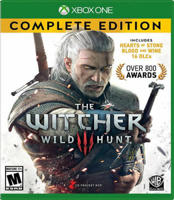 SEALED The Witcher 3: Wild Hunt - Complete Edition for Xbox One [New Xbox One]