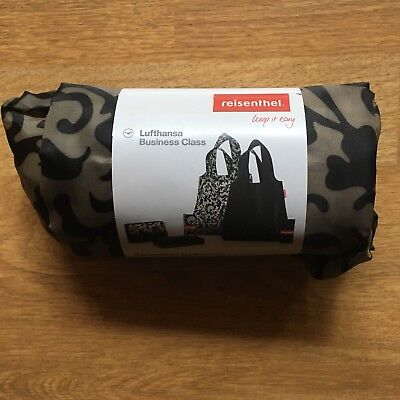 LUFTHANSA Amenity Kit bag business class airbus collection reusable Boeing Shop