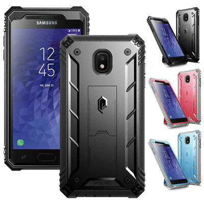 Samsung Galaxy J3 2018 Case Poetic Revolution【Built-in-Screen Protector】3 Colors