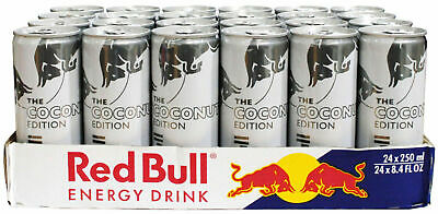 RED BULL 250ML x 24 Cans THE COCONUT EDITION COCONUT AND BERRY FLAVOUR
