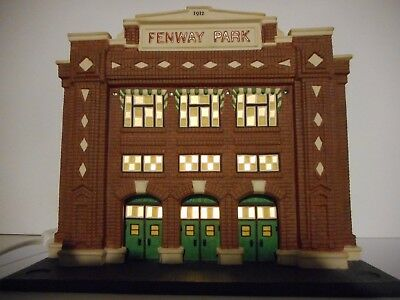 """Department 56 Fenway Park Lighted Buildg """"christmas In The City Series"""" Red Sox"""