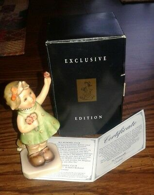 Goebel Hummel Figurine Forever Yours #793  Club Exclusive 1996/97 Orig Box