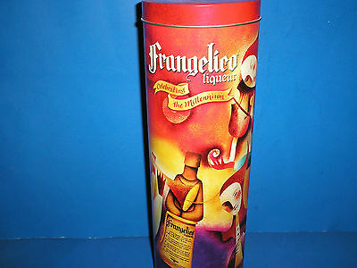 FRANGELICO Liqueur Celebrating the Millennium TIN and 4 Paper Advertisements ADS