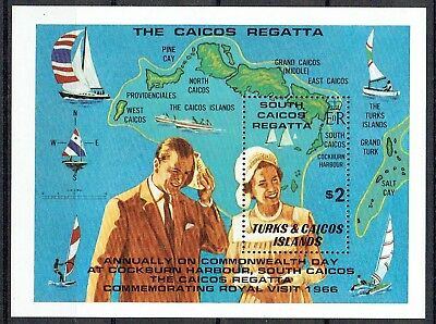 Turks & Caicos Is. 1981. South Caicos Regatta Set & Mini Sheet. Mnh See Scan