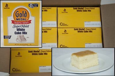 Gold Medal Supermoist White Cake Mixes 4.5lbs (PACK OF 6)