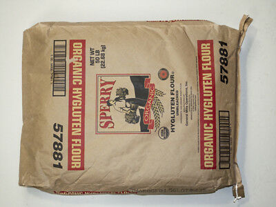 Sperry Organic Untreated Hygluten Wheat Flour 50lbs (PACK OF 1)