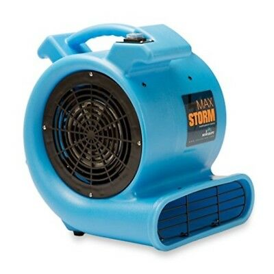 Soleaire Max Storm 1/2 HP Durable Lightweight Air Mover Carpet Dryer Blower Floo