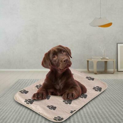 3Size Washable Reusable Dog Training Puppy Pee Pads Piddle Potty Brown/Red