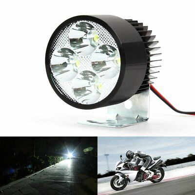 12V-85V 9W Super Bright LED Spot Light Head Lamp Motor Bike Car Motorcycle AZ