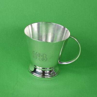 Antique Australian Sterling Silver Christening Cup, William Sanders c1920's
