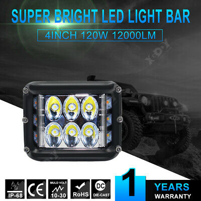 New 45W LED Light Work Flood Combo Side Shooter Driving Off Road SUV Car Tractor